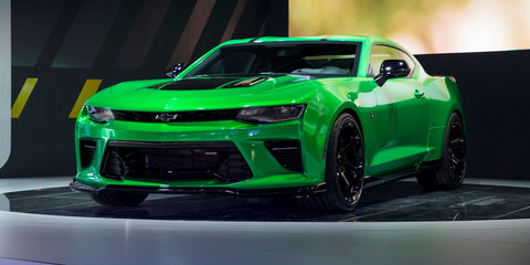 Chevrolet Camaro Track concept revealed