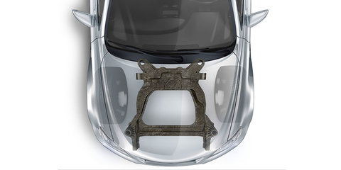 Ford and Magna detail new carbon-fibre subframe