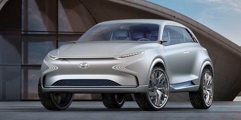 Hyundai FE Fuel Cell Concept revealed in Geneva