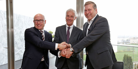 Volkswagen, Skoda and Tata begin strategic alliance, shared development