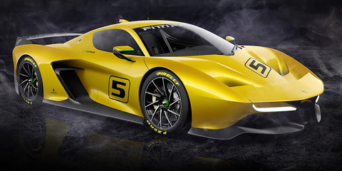 Pininfarina Fittipaldi EF7 Vision Gran Turismo revealed
