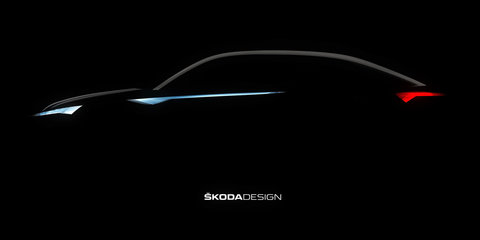 Skoda Vision E sketch may preview Kodiaq Coupe