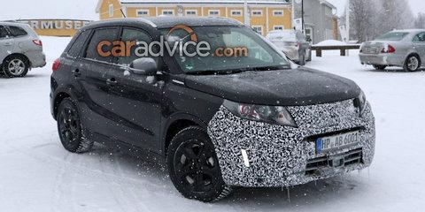 2018 Suzuki Vitara facelift spied