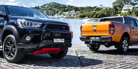 Ranger sales overtake Corolla, HiLux stays king
