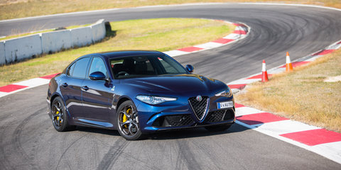 Alfa Romeo Giulia QV v BMW M3 Competition v Mercedes-AMG C63 S comparison