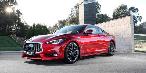 2017 Infiniti Q60 Red Sport on sale in Australia