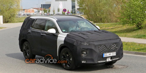 2018 Hyundai Santa Fe spotted in Germany