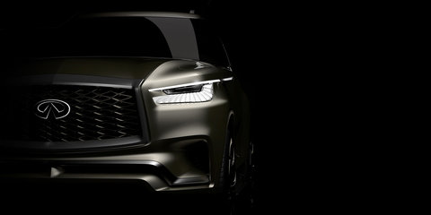 2018 Infiniti QX80 Monograph to be revealed in New York on April 12 - UPDATE