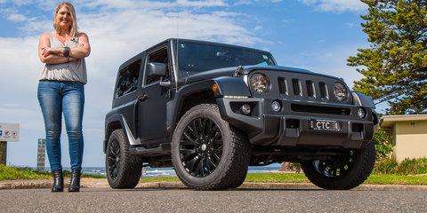 City to coast cruising: Chelsea Truck Company Black Hawk Jeep