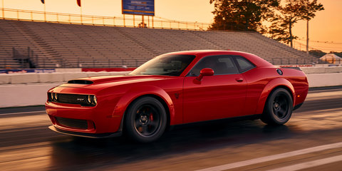 Dodge Demon revealed ahead of New York motor show debut