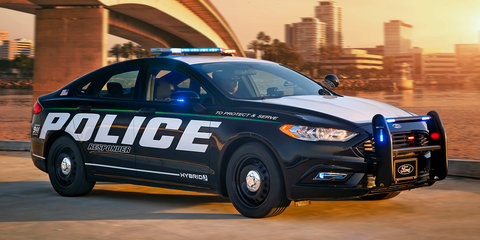 Ford Fusion Police Responder Hybrid: First 'pursuit-rated' hybrid car revealed