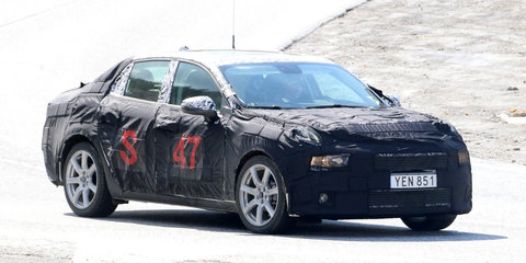 2018 Lynk & Co '02' sedan spied
