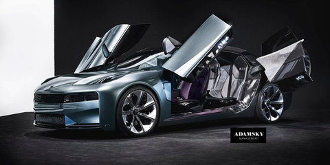 Mysterious Lynk & Co concept surfaces online, could preview upcoming 02 sedan