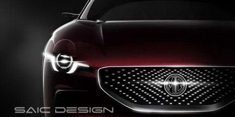 MG E-Motion concept teased, circular MG badge appears