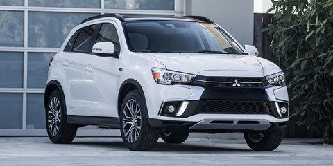 2018 Mitsubishi ASX update revealed in the USA