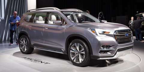 Subaru Ascent concept: Seven-seat Tribeca replacement unveiled