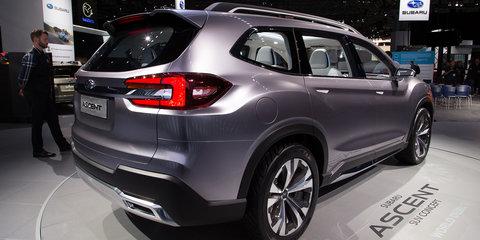 Subaru Ascent concept: Seven-seat Tribeca replacement unveiled