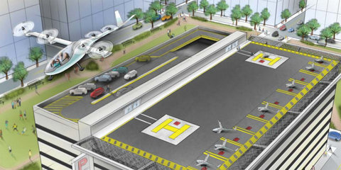 Uber to work with NASA on flying taxi management systems