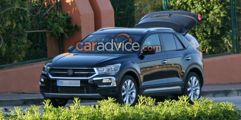2018 Volkswagen T-Roc spied almost without disguise