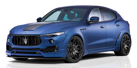 Maserati Levante gets wild Novitec treatment