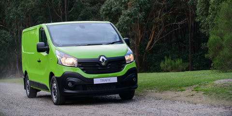 2017 Renault Trafic gets power boost and a limited-time drive-away deal
