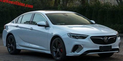 2018 Holden Commodore SS/VXR unveiled in Buick form