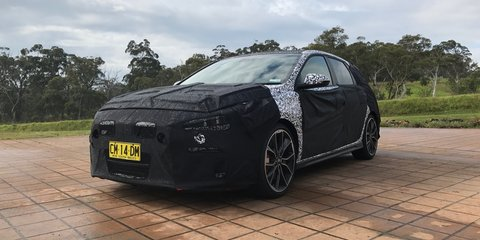 Hyundai i30 N more track-focused than benchmark Golf GTI - UPDATE: sound bite added