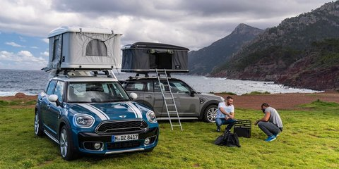 Mini Countryman rooftop tent option revealed