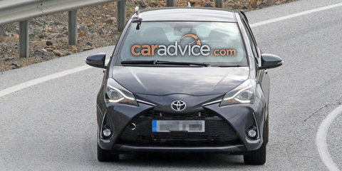 Toyota Yaris GRMN five-door spied