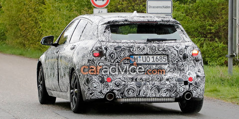 2019 BMW 1 Series: Front-wheel drive hatch spied
