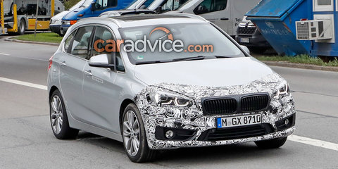 2018 BMW 2 Series Active Tourer update spied