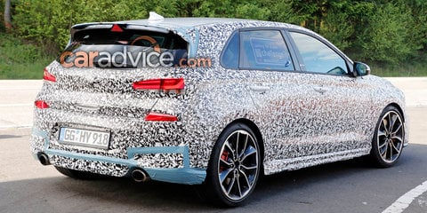2018 Hyundai i30 N spied nearing production