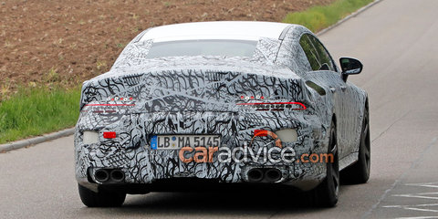 2018 Mercedes-AMG 'GT' sedan spied