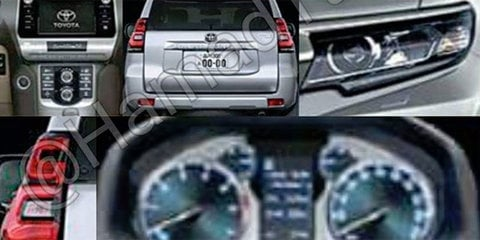2018 Toyota Prado facelift leaked - UPDATE