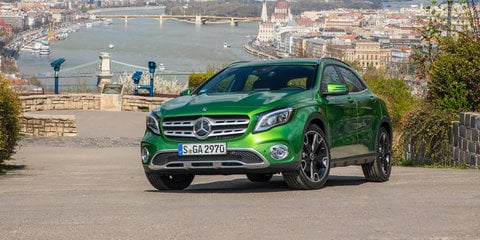 mercedes benz gla review specification price caradvice. Black Bedroom Furniture Sets. Home Design Ideas