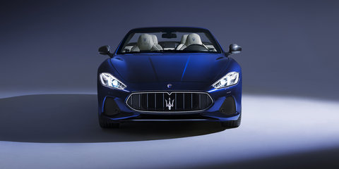 2018 Maserati GranCabrio, GranTurismo fully revealed for Goodwood