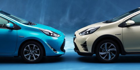 Toyota Prius C gets crossover update in Japan - UPDATE