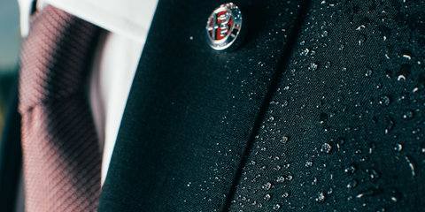 Alfa Romeo Giulietta inspires high-performance… suit?