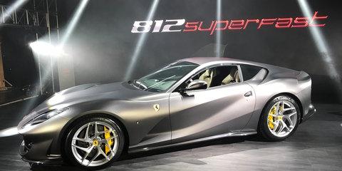 Ferrari 812 Superfast premieres in Australia