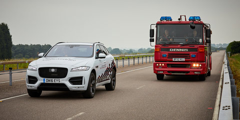 Jaguar Land Rover reveals autonomous systems for urban driving