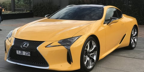2017 Lexus LC500 & LC500h pricing and specs: Luxury sports flagship arrives from $190,000