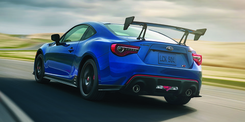 Subaru BRZ tS and WRX STI Type RA revealed in US