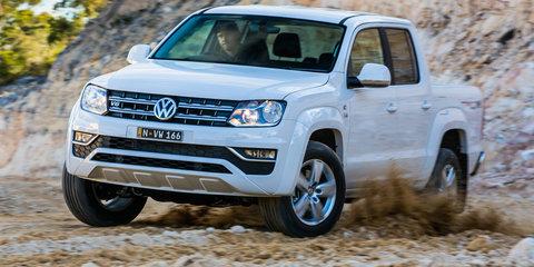 Volkswagen Amarok V6 Sportline: Big power, new entry price - UPDATE