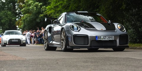 Porsche GT2 RS revealed at Goodwood Festival of Speed