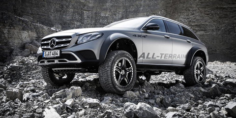 Mercedes-Benz E-Class All-Terrain 4x4²: Wild one-off special lives up to its name