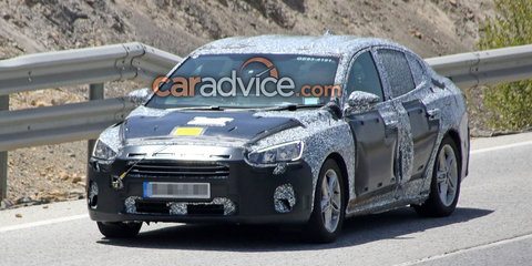 2018 Ford Focus sedan spied