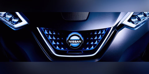 2018 Nissan Leaf grille teased ahead of September unveiling