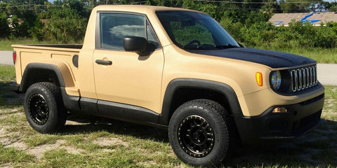 Jeep Renegade gets a Comanche ute makeover in the US