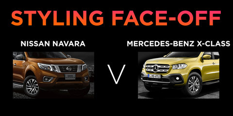 Mercedes-Benz X-Class v Nissan Navara: Styling face-off
