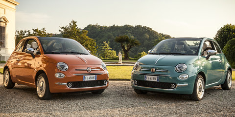 Fiat 500 Anniversario: Even more retro version revealed
